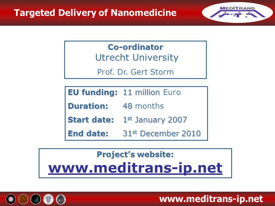 Project's website: www.meditrans-ip.net
