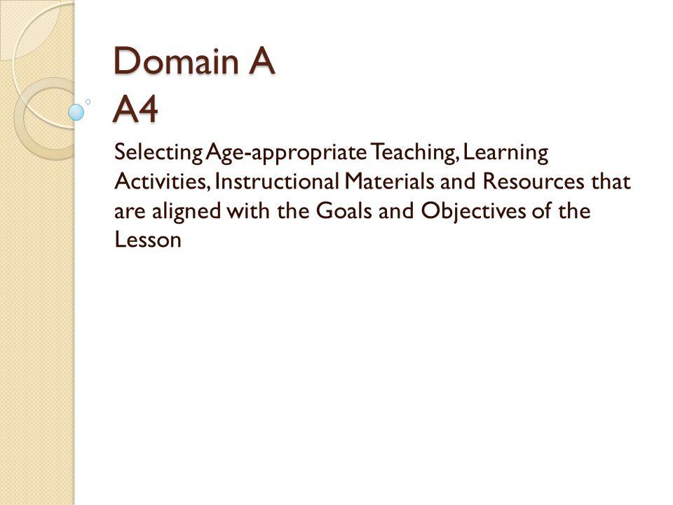Domain A A4