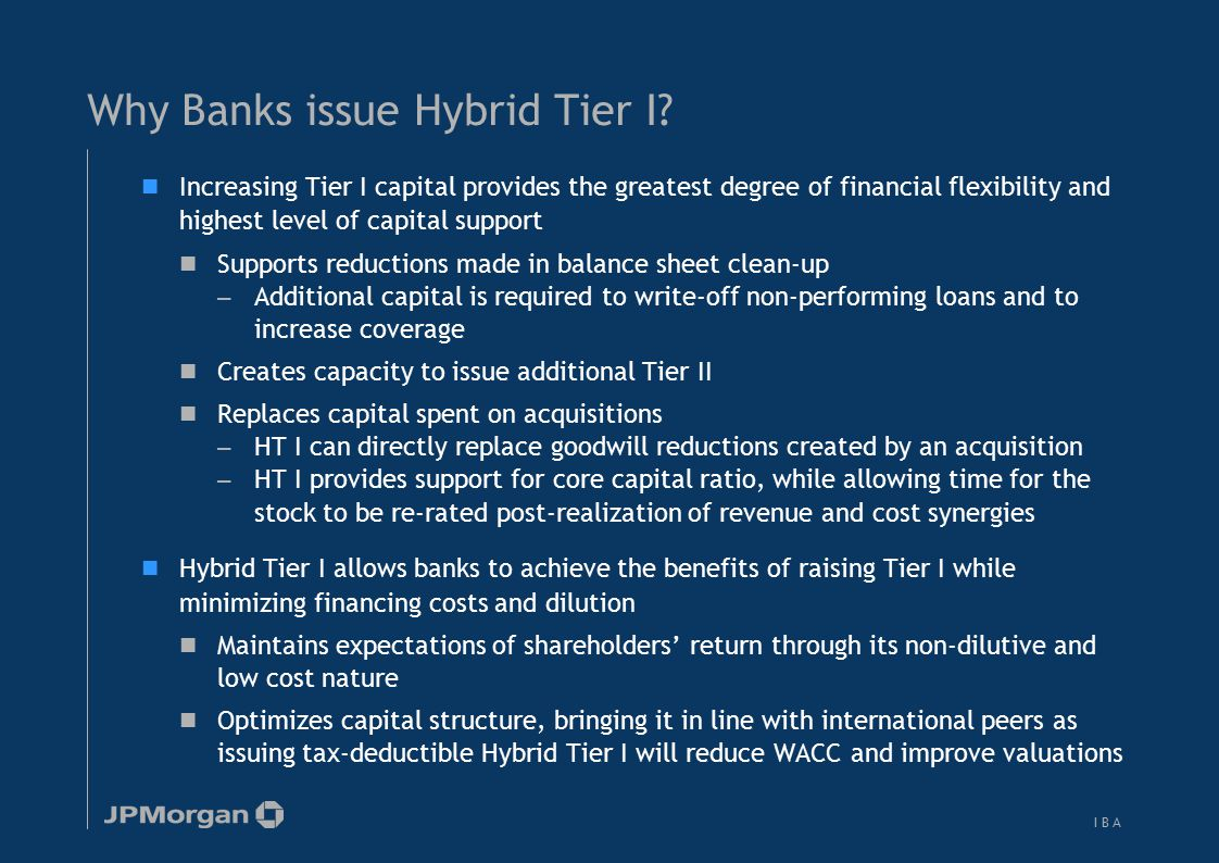Issuers face several decisions in designing an optimal HT I issuance structure