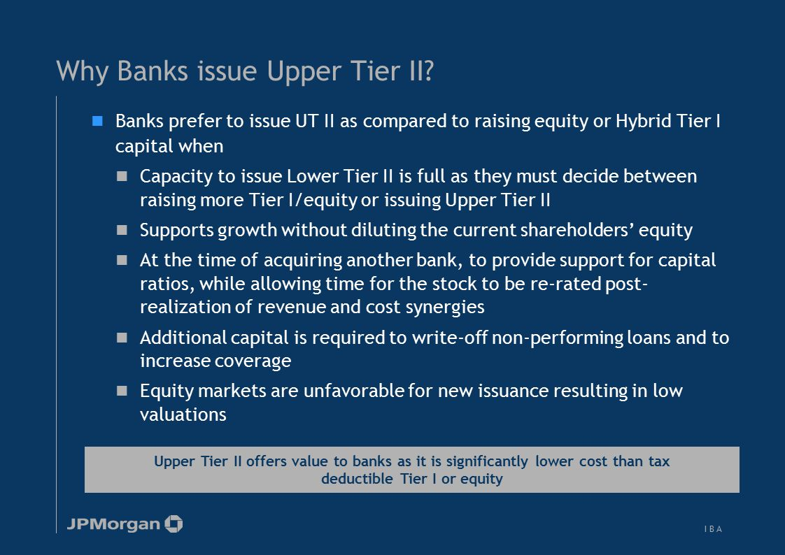 While Lower Tier II is uniform, significant variation exists with Upper Tier II across jurisdictions
