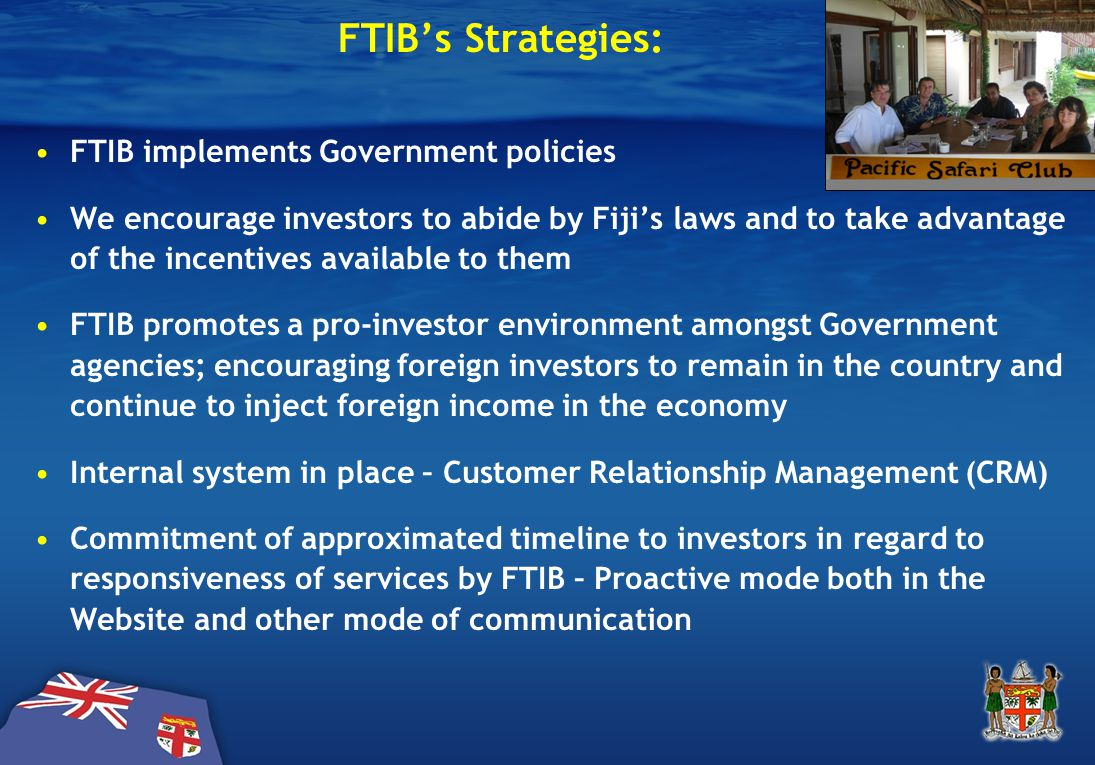 FTIB's Strategies (Effective Facilitation)