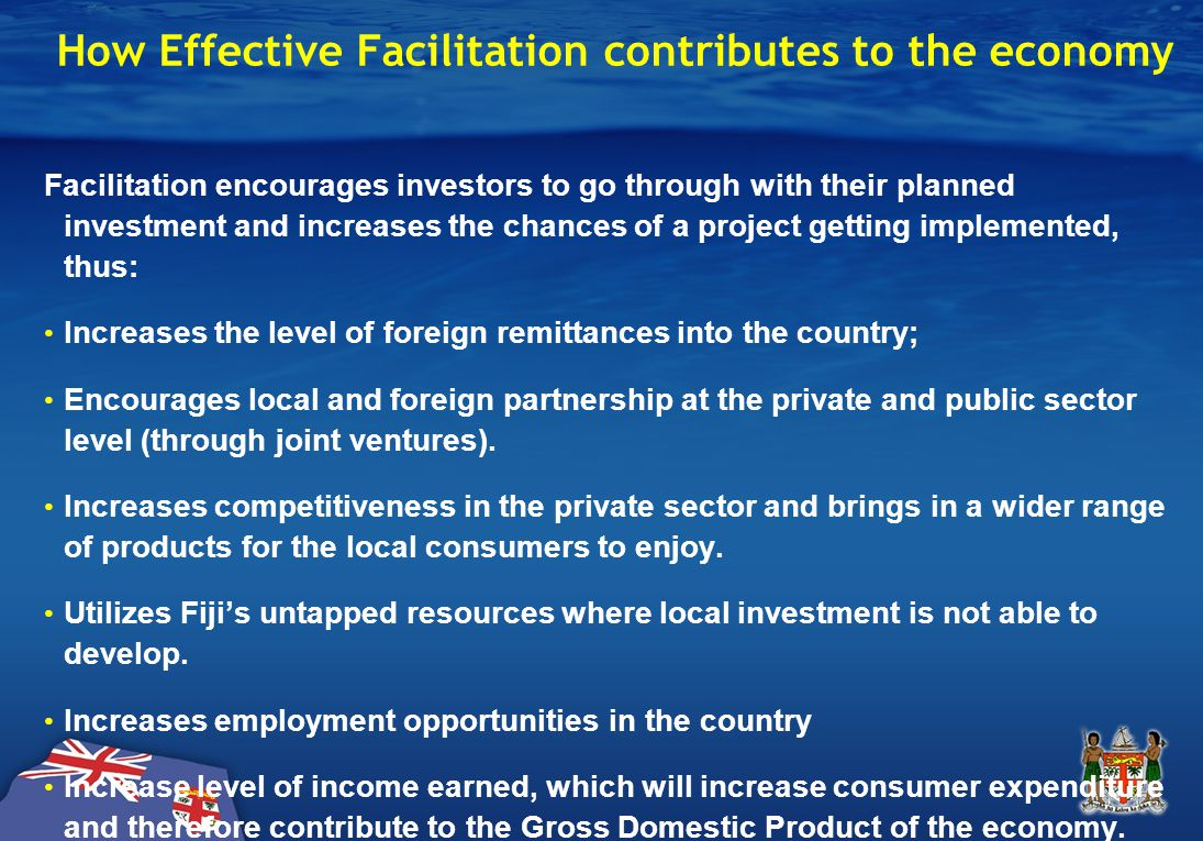 Why Facilitate Investment Projects