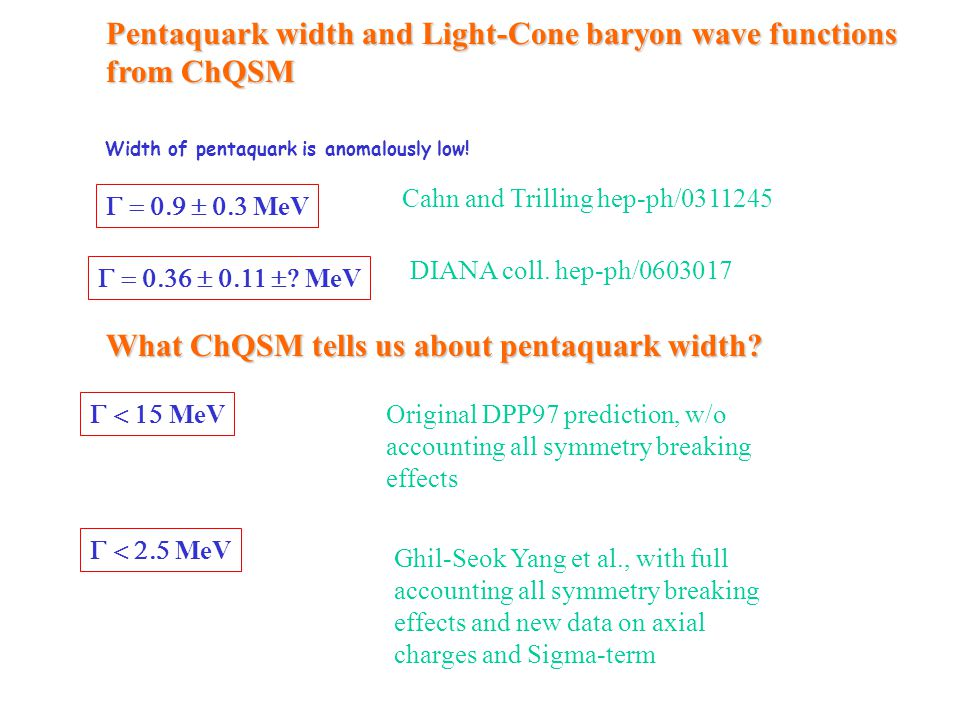 Width of pentaquark is anomalously low!