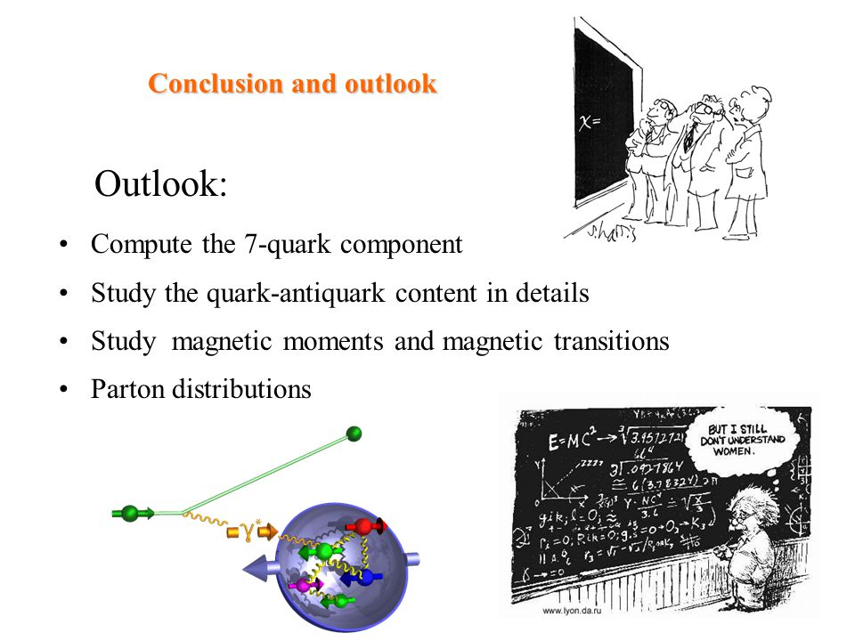 Conclusion and outlook