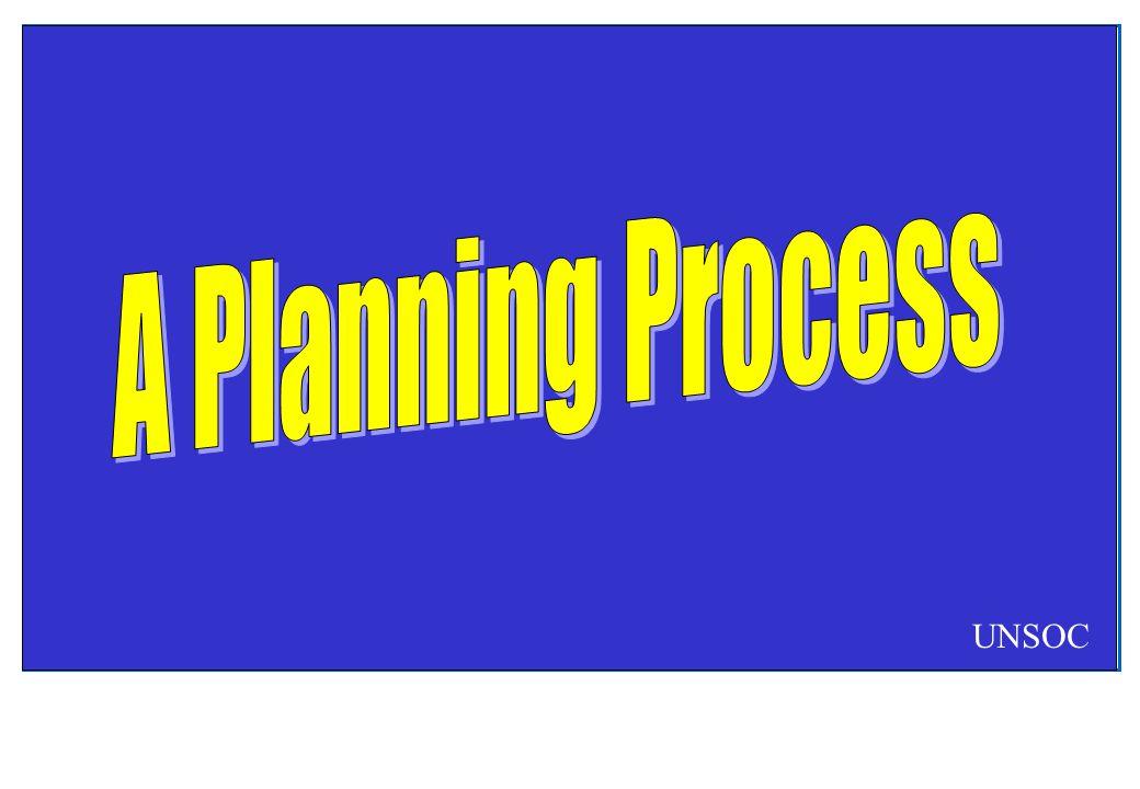 A Planning Process UNSOC