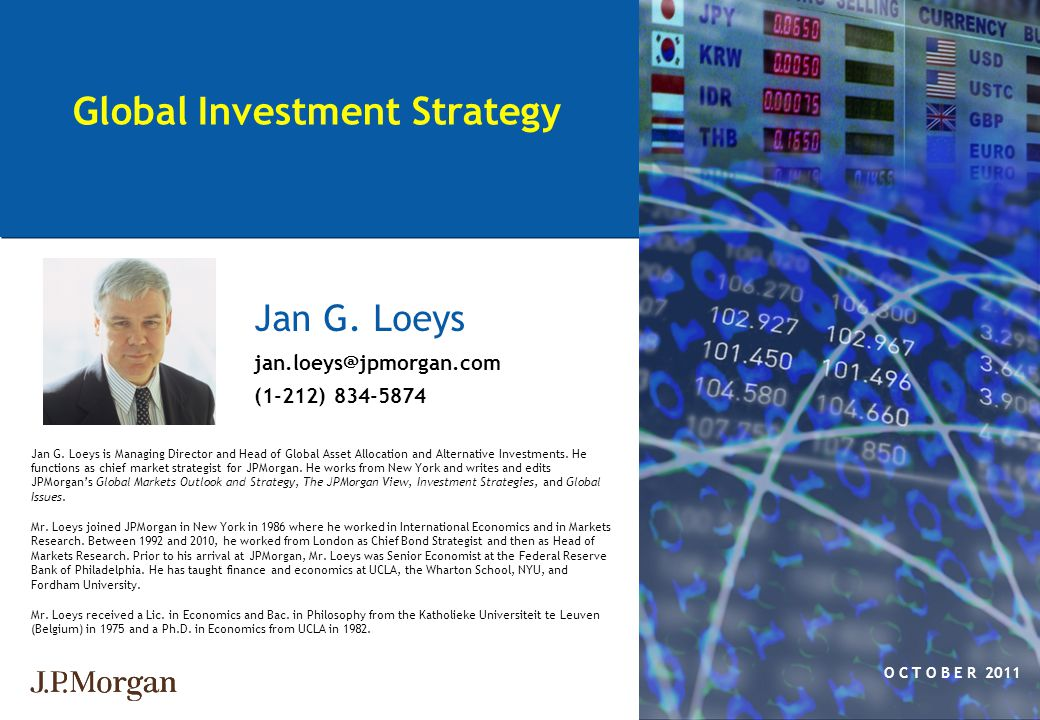Global Investment Strategy