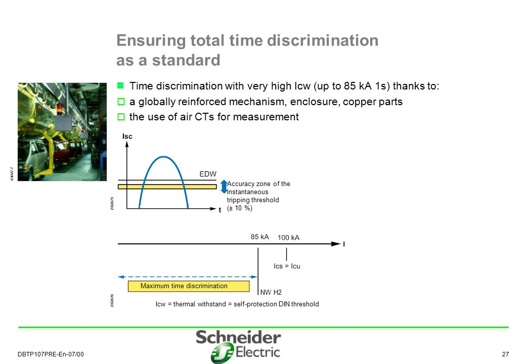 Ensuring total time discrimination as a standard