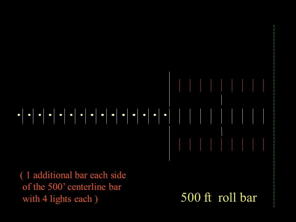 500 ft roll bar ( 1 additional bar each side