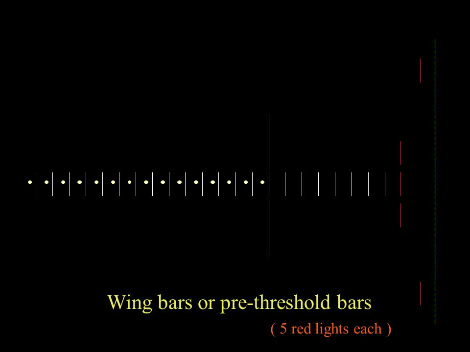Wing bars or pre-threshold bars