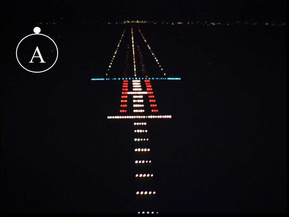A The first 35mm slide introduces approach and runway lighting.