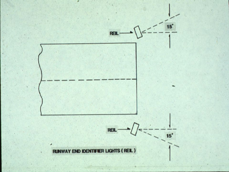 RUNWAY END IDENTIFIER LIGHTS (REIL)