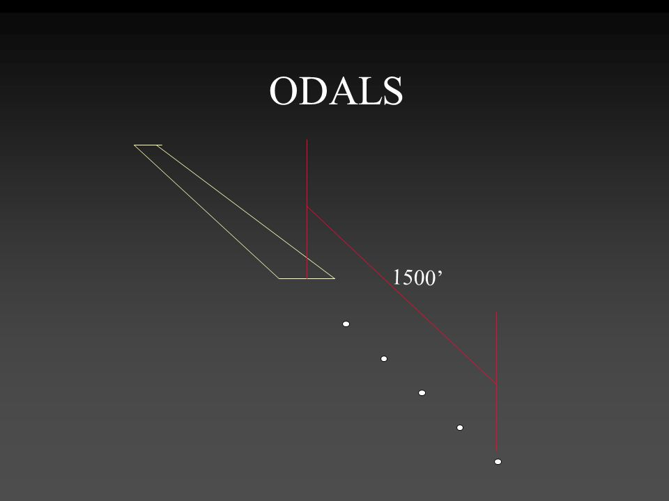 ODALS 1500' ODALS. Omnidirectional Approach Lighting System.