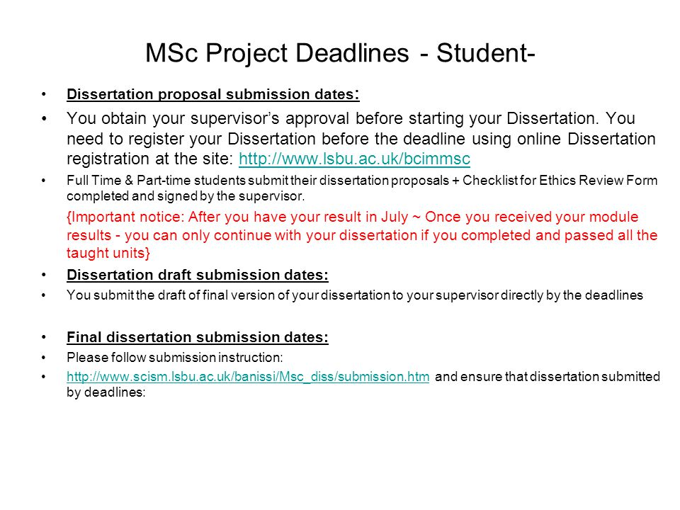 Uci thesis submission deadline