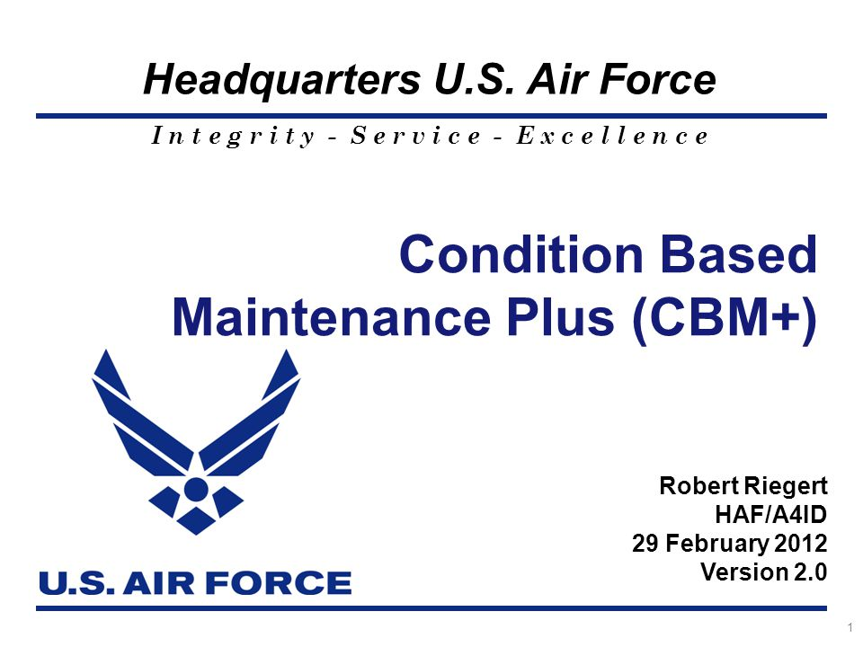 Maintenance Plus (CBM+)