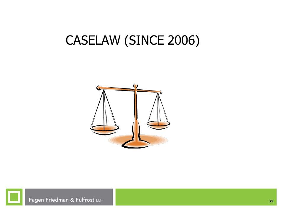 CASELAW (SINCE 2006)