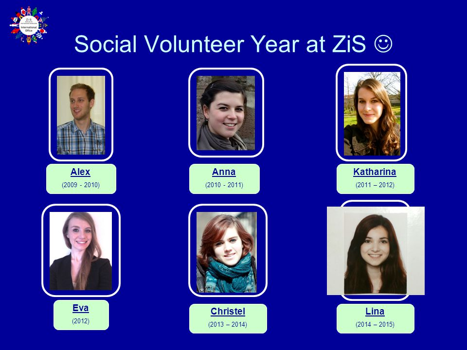 Social Volunteer Year at ZiS 