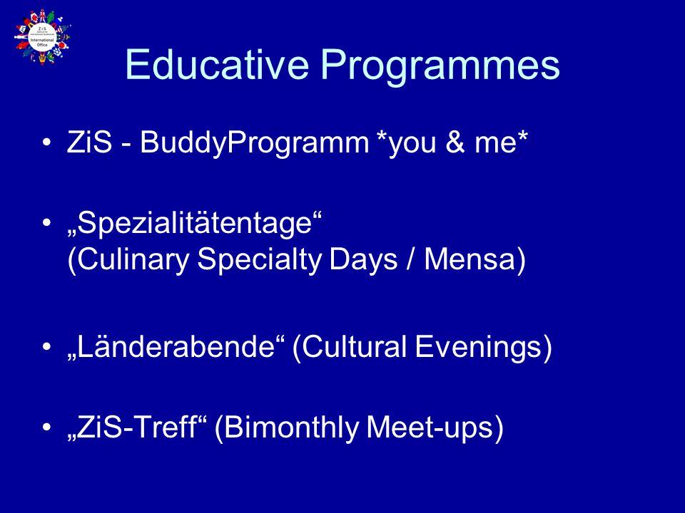 Educative Programmes ZiS - BuddyProgramm *you & me*