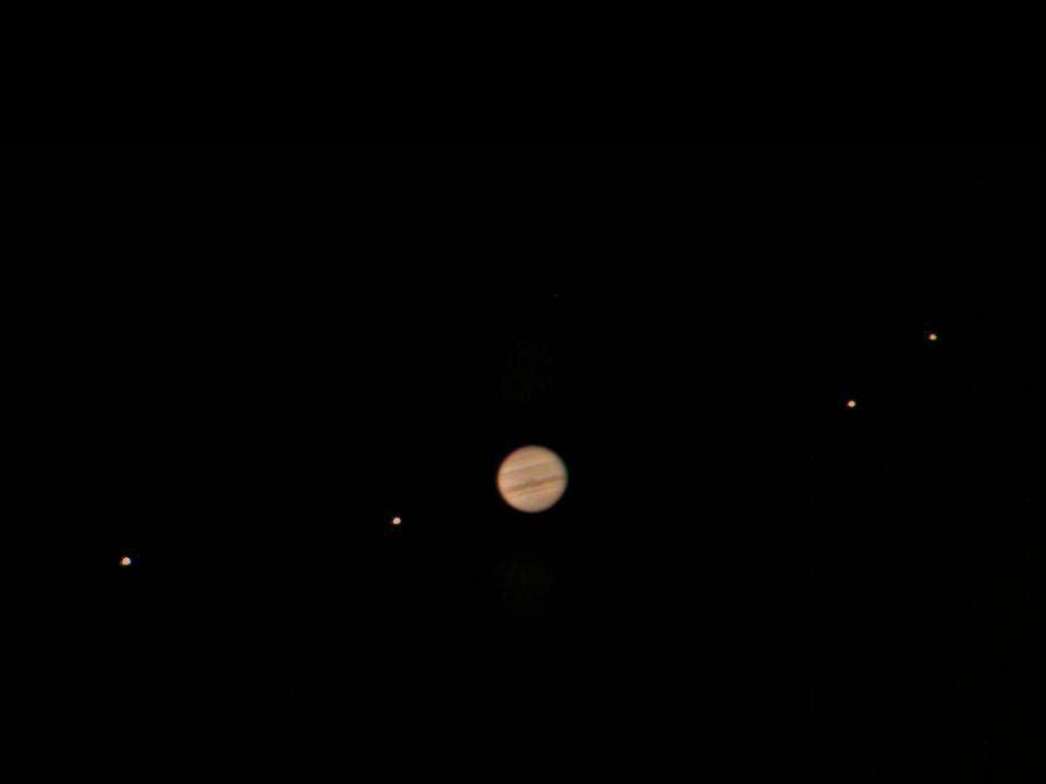 Figure 4-16 Jupiter and Its Largest Moons