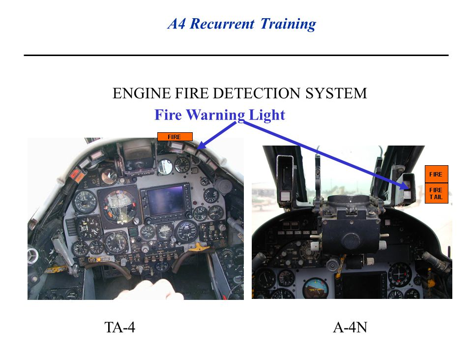 ENGINE FIRE DETECTION SYSTEM