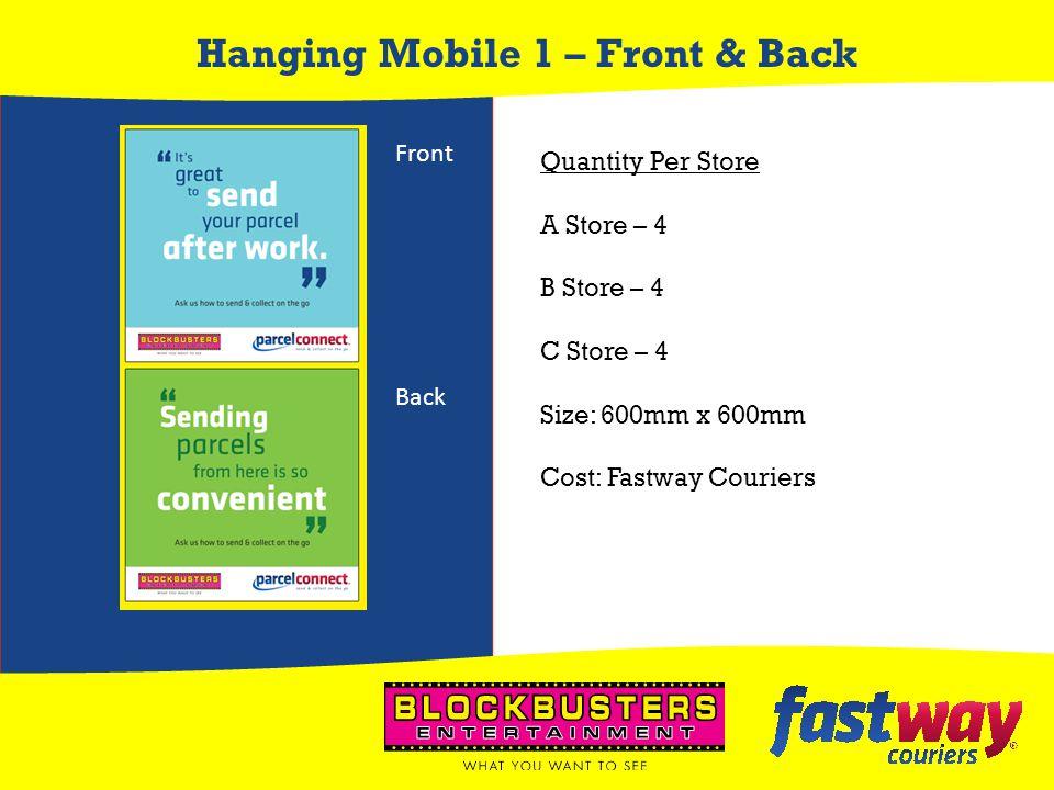 Hanging Mobile 1 – Front & Back