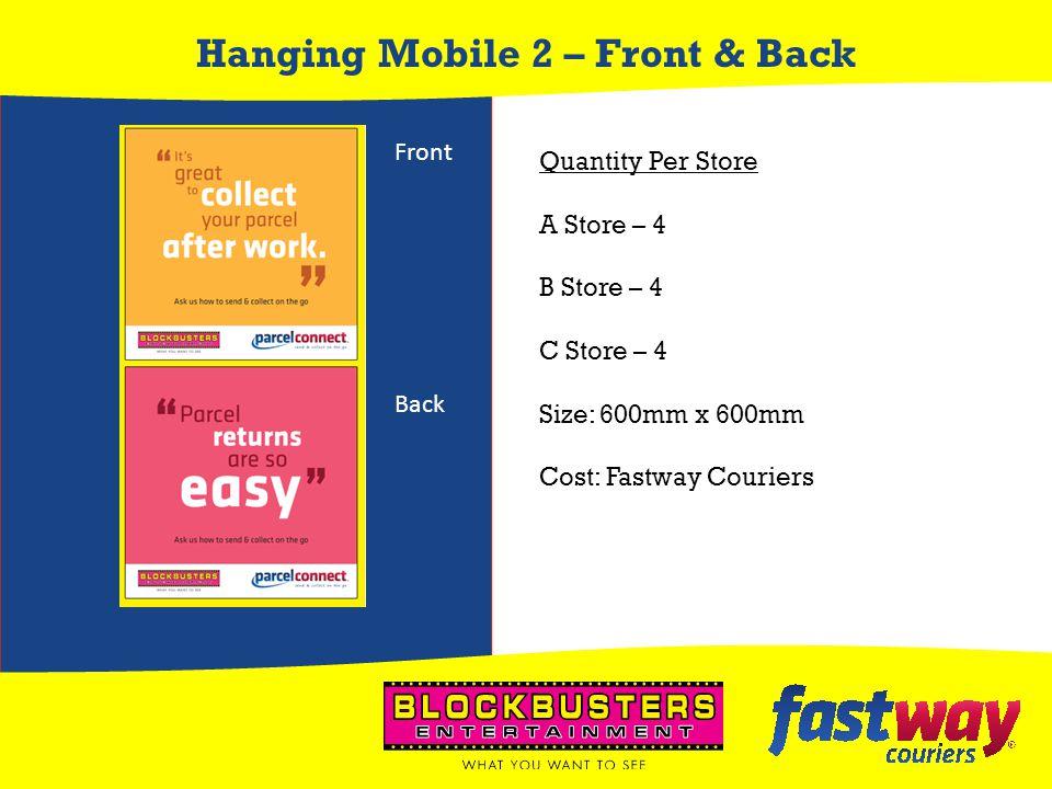 Hanging Mobile 2 – Front & Back