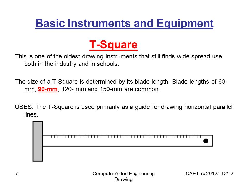 Basic Instruments and Equipment