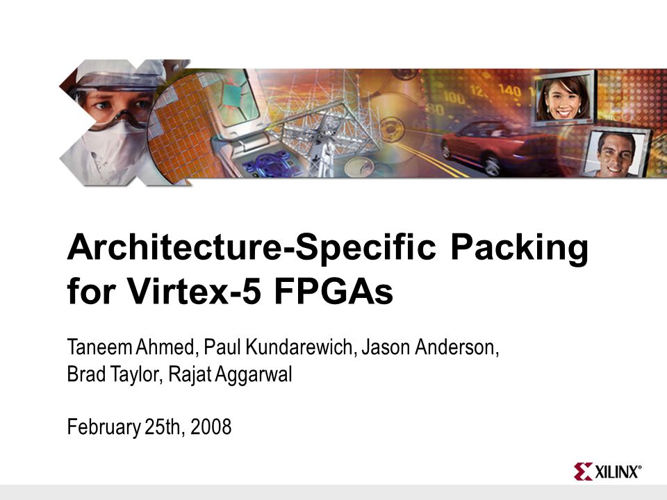 Architecture-Specific Packing for Virtex-5 FPGAs