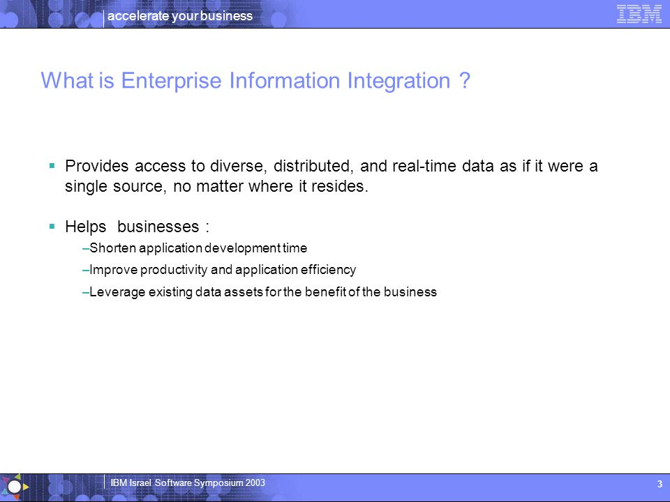 What is Enterprise Information Integration
