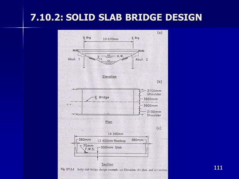 7.10.2: SOLID SLAB BRIDGE DESIGN