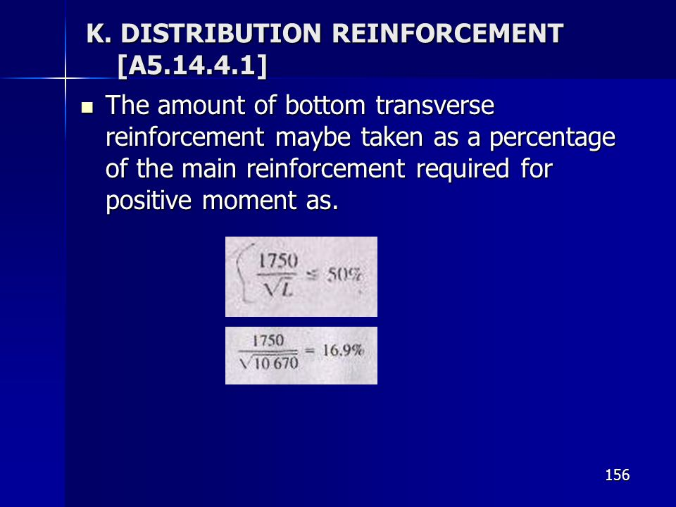 K. DISTRIBUTION REINFORCEMENT [A ]