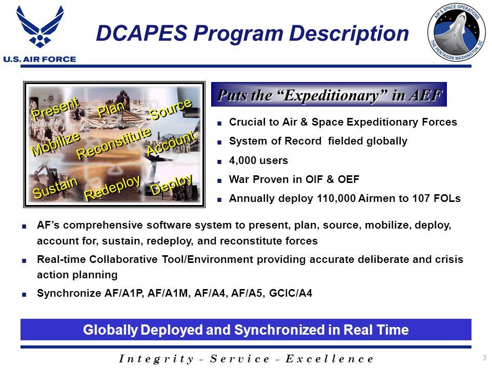 DCAPES Program Description
