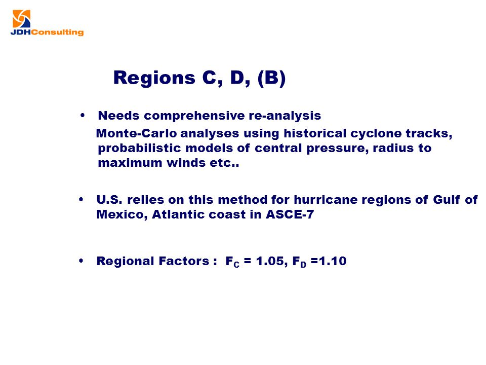 Regions C, D, (B) Needs comprehensive re-analysis