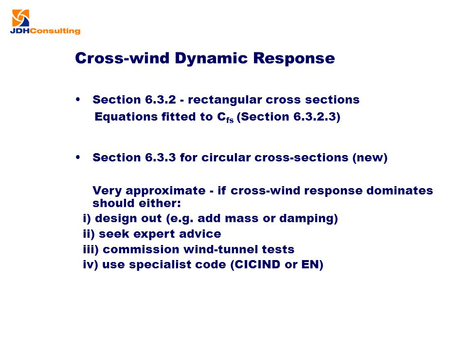 Cross-wind Dynamic Response