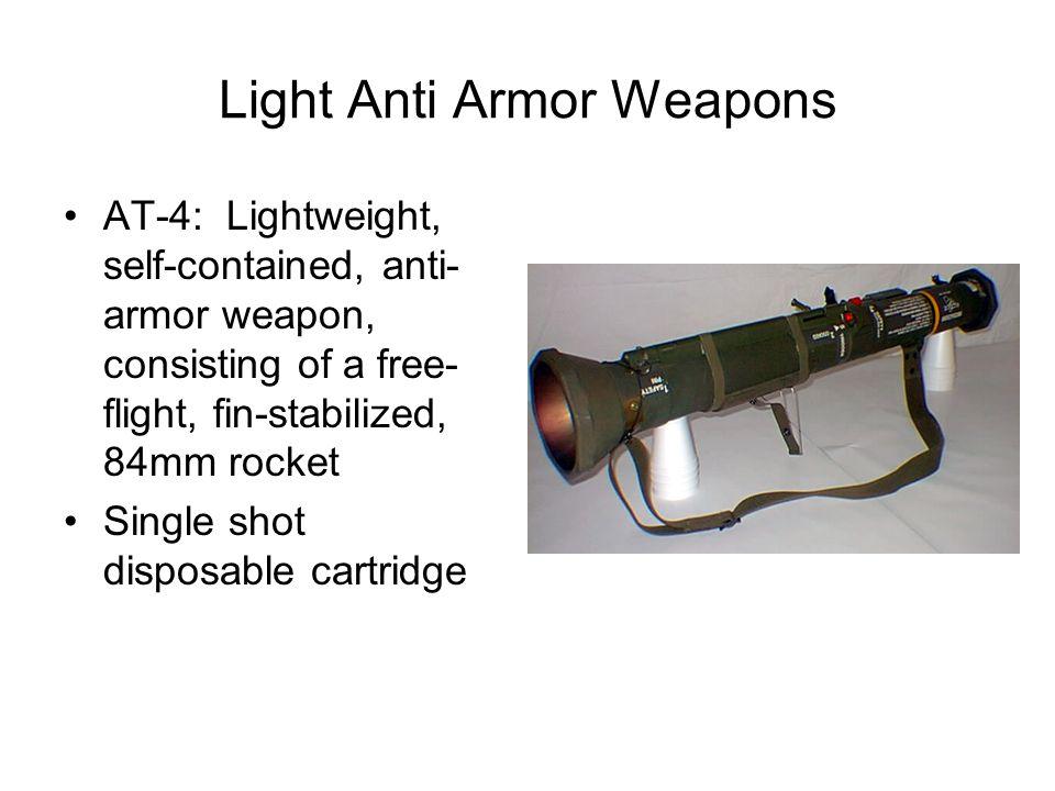 Light Anti Armor Weapons
