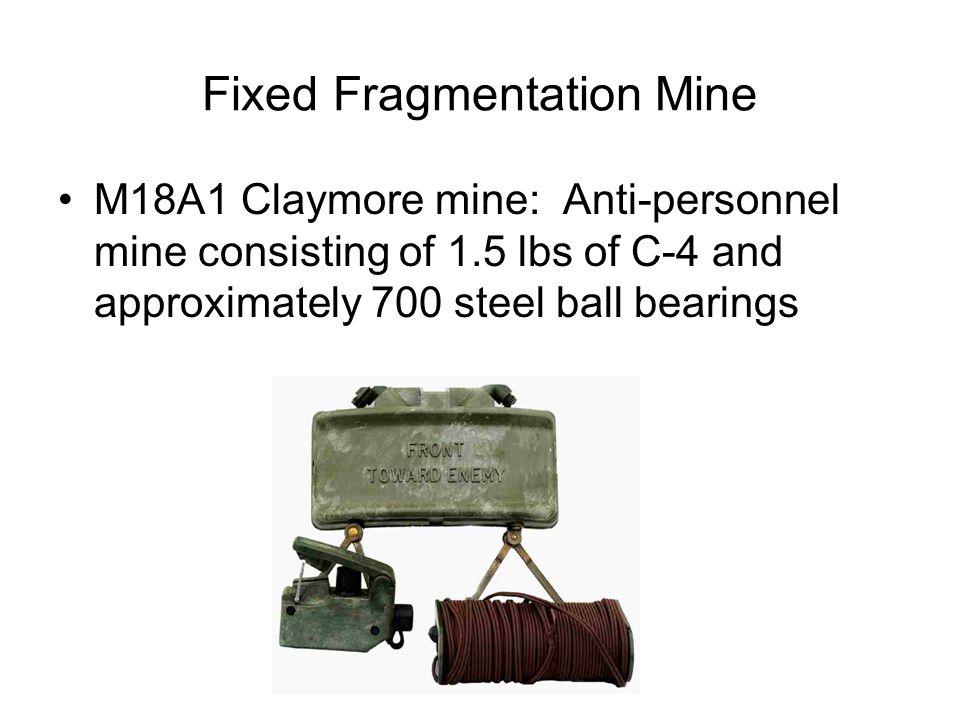 Fixed Fragmentation Mine
