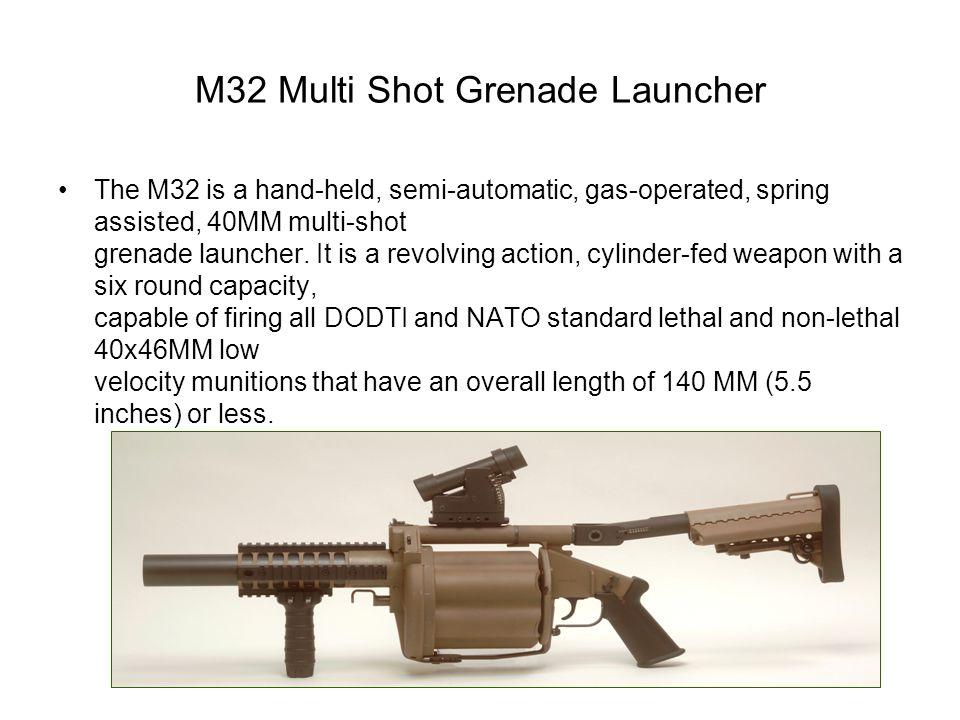 M32 Multi Shot Grenade Launcher
