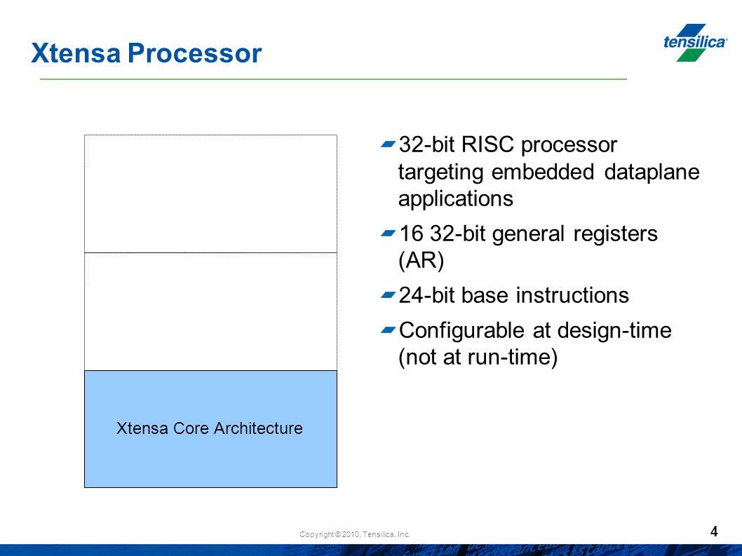 Xtensa Core Architecture