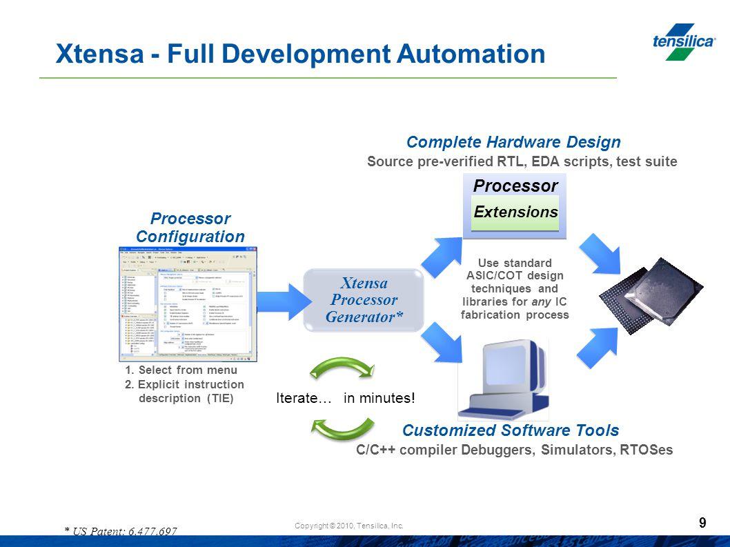 Xtensa - Full Development Automation