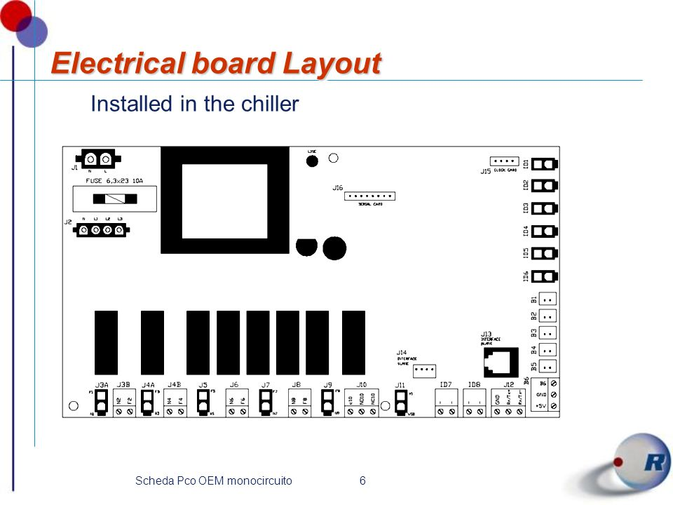 Electrical board Layout