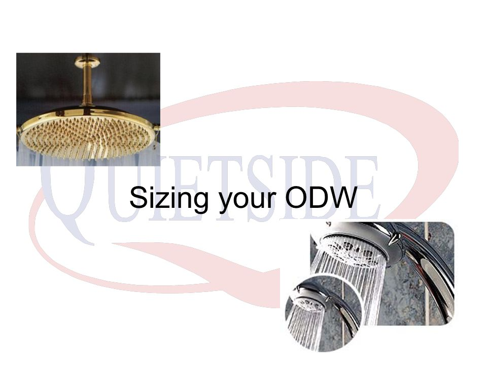 Sizing your ODW