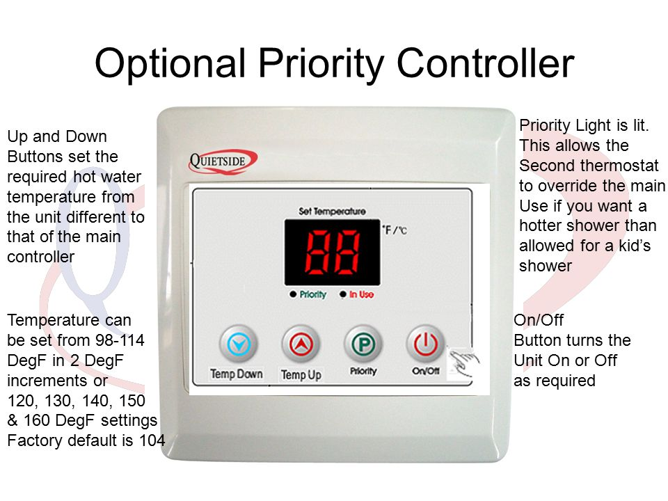 Optional Priority Controller