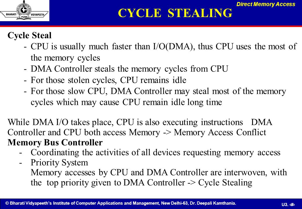 CYCLE STEALING Cycle Steal