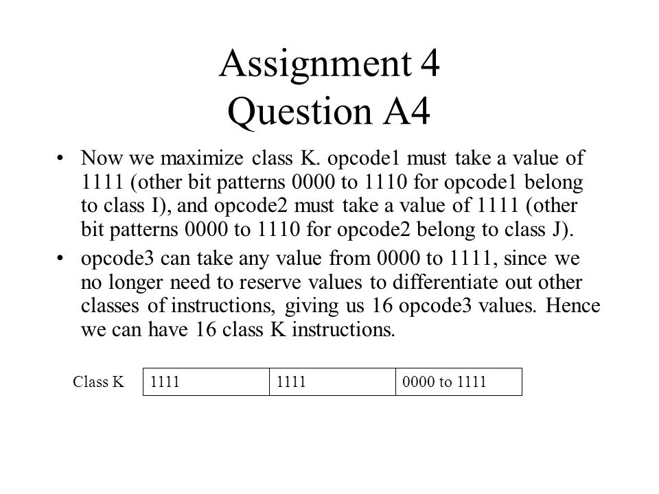 Assignment 4 Question A4