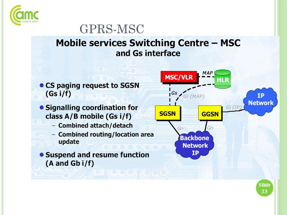 GPRS-MSC
