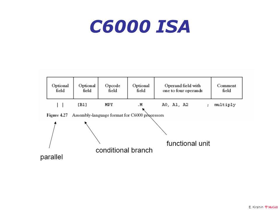 C6000 ISA