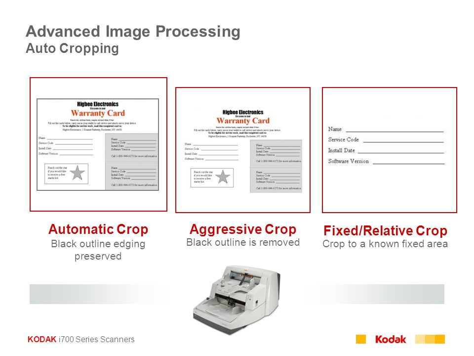 Advanced Image Processing Auto Cropping