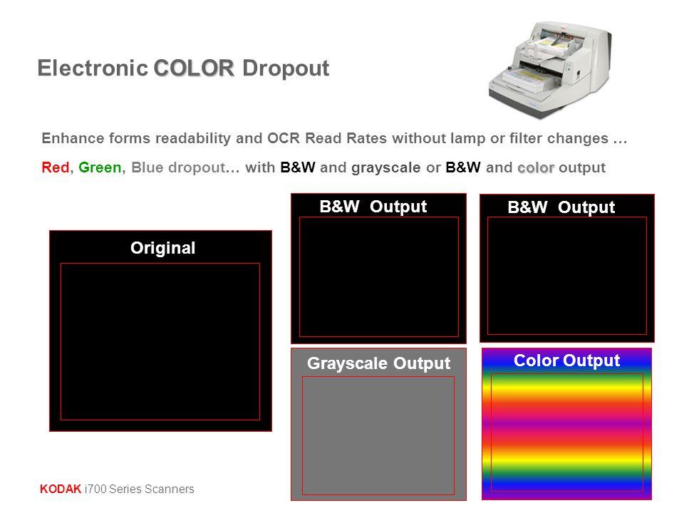 Electronic COLOR Dropout