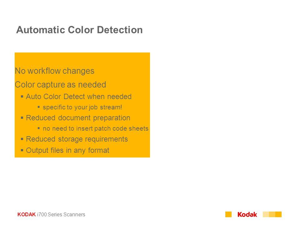 Automatic Color Detection