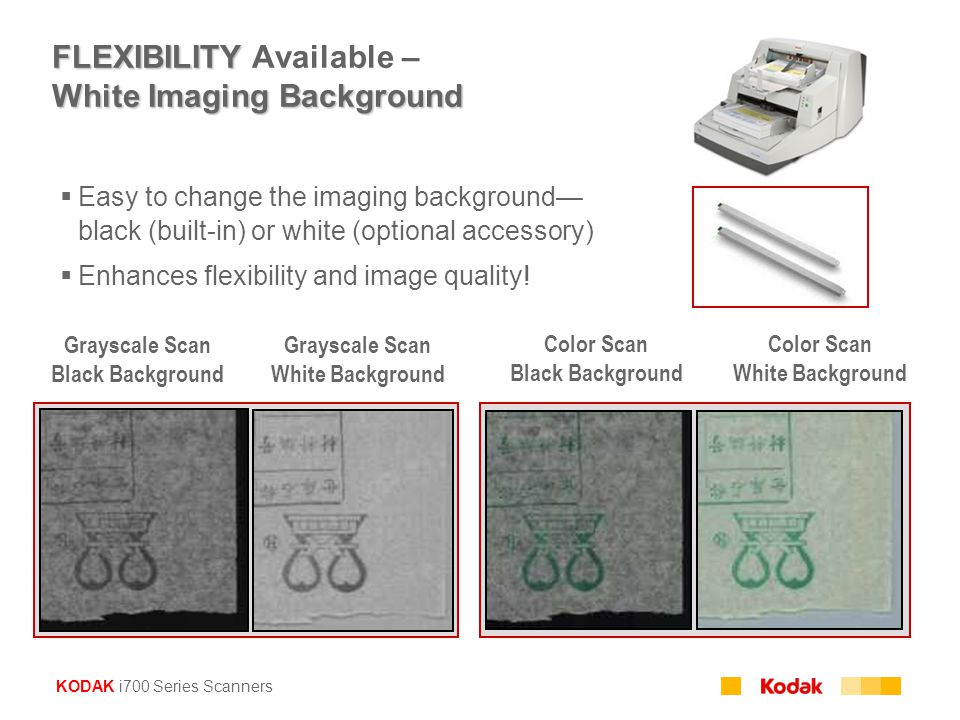 FLEXIBILITY Available – White Imaging Background