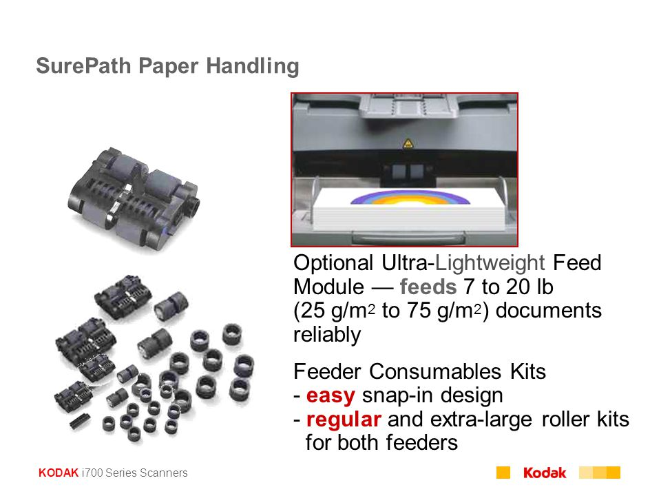 SurePath Paper Handling